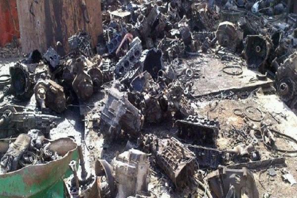 Πτολεμαΐδα: Είχαν κατακλέψει σιδερικά από παλιό εργοστάσιο -Μέχρι και κατασκευή βάρους 4 τόνων