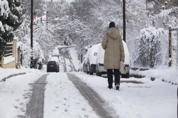 Καιρός: Στα λευκά και πάλι η χώρα: Κατακόρυφη πτώση της θερμοκρασίας και χιόνια παντού μέχρι το Σαββατοκύριακο!