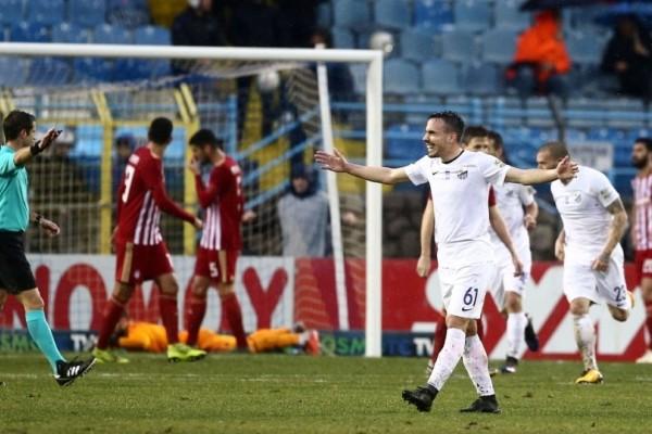 Κύπελλο Ελλάδος: Ισοπαλία με πολλά γκολ (3-3) για Λαμία και Ολυμπιακό!