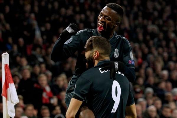 Champions League: Άγιαξ - Ρεάλ Μαδρίτης 1-2