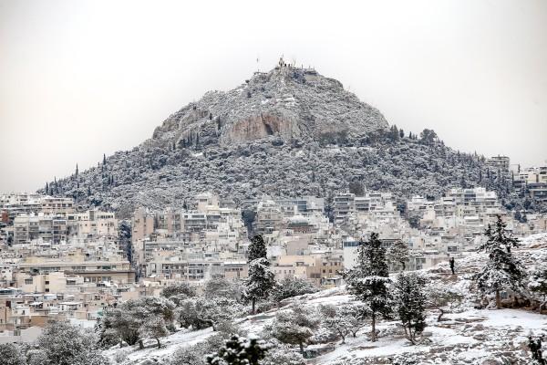 Καλλιάνος: Ιστορικός χιονιάς το Σαββατοκύριακο! Ρεκόρ δεκαετίας στην Αθήνα