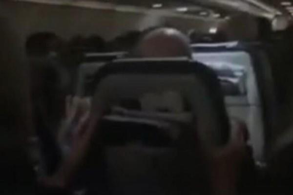 Η πτήση του τρόμου για Χανιά: Οι ώρες αγωνίας μέσα στο αεροπλάνο! Οι αναταράξεις που δεν θα ξεχάσουν ποτέ (video)