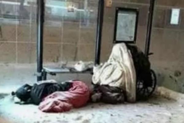 Φωτογραφίες σοκ: Αστεγοι παγώνουν στους -50 βαθμούς Κελσίου στο Σικάγο!