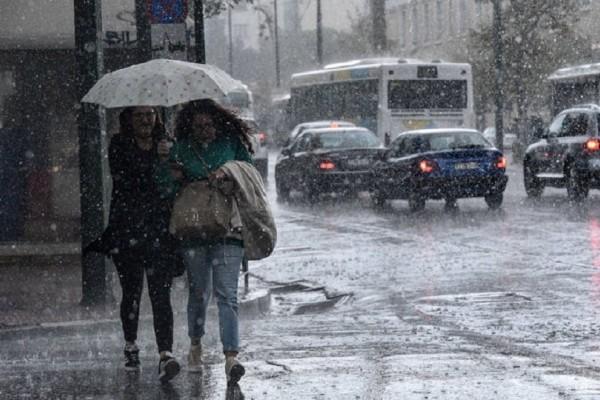 Βροχές και δυνατές καταιγίδες έρχονται μετά τα χιόνια! - Μικρή βελτίωση του καιρού!