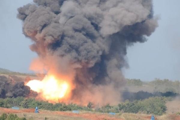 Εκρήξεις σε στρατιωτική άσκηση στο Κιλκίς!