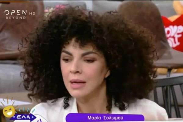 Μαρία Σολωμού: Τι αποκάλυψε για την κατάσταση της υγείας του Νίκου Μουτσινά; (video)