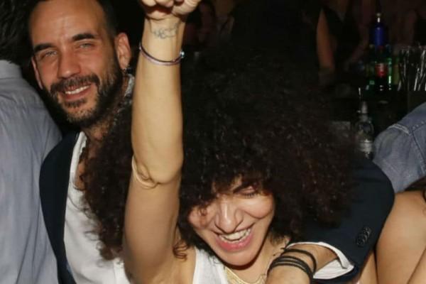Μουζουράκης - Σολωμού: Τρυφερές στιγμές σε βραδινή έξοδο!