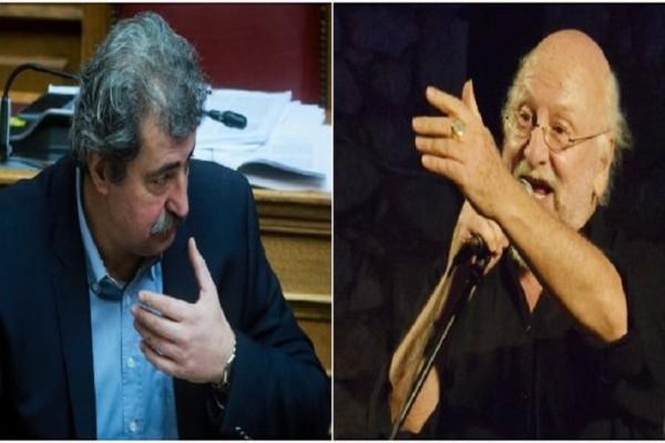 Παύλος Πολάκης: Με επίθεση και υπονοούμενα απάντησε στον Διονύση Σαββόπουλο! - «Εγώ ξέρω από πρόβατα, εσύ από... »