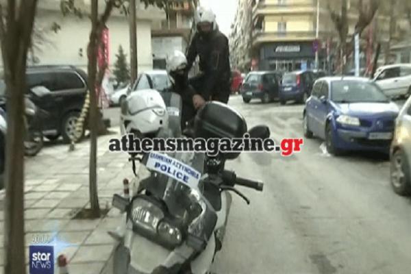 Συναγερμός στη Θεσσαλονίκη: Καρέ καρέ η σύλληψη κακοποιών που μπήκαν να ληστέψουν σπίτι! (Video)