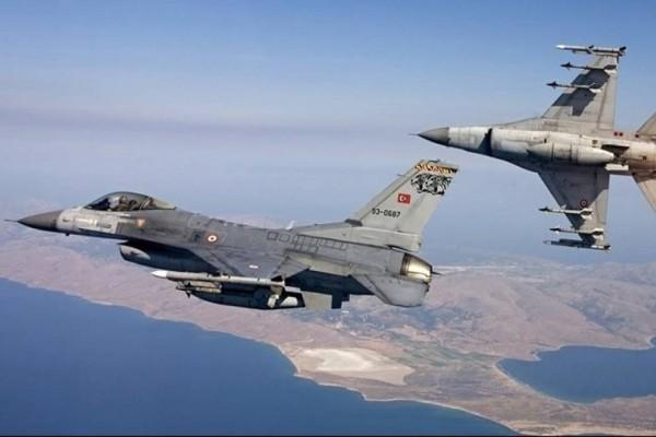 Θρίλερ με τουρκικό F-16 πάνω από το Αιγαίο!