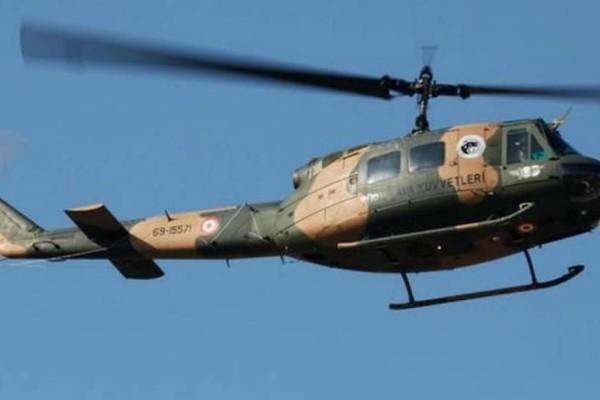 Έπεσε στρατιωτικό ελικόπτερο στην Κωνσταντινούπολη