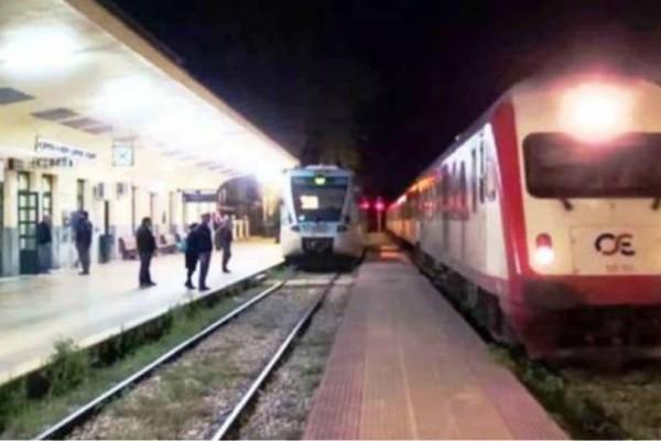 Νύχτα ταλαιπωρίας στον Δομοκό: Άγνωστοι έκοψαν τα καλώδια και ακινητοποίησαν το τρένο!