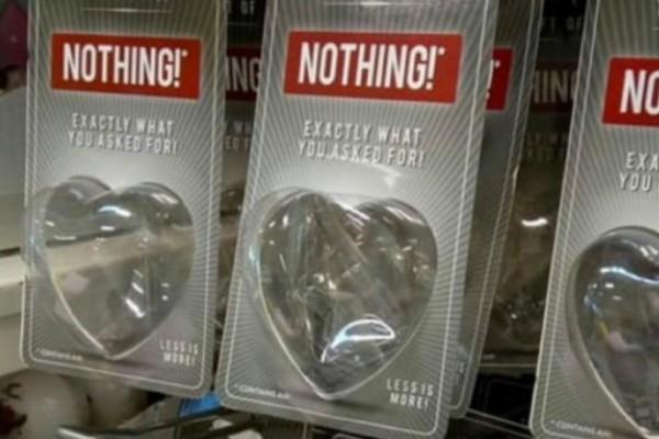 Εταιρεία πουλάει κενά πακέτα για όσους δεν ζήτησαν κανένα δώρο για τον Άγιο Βαλεντίνο!