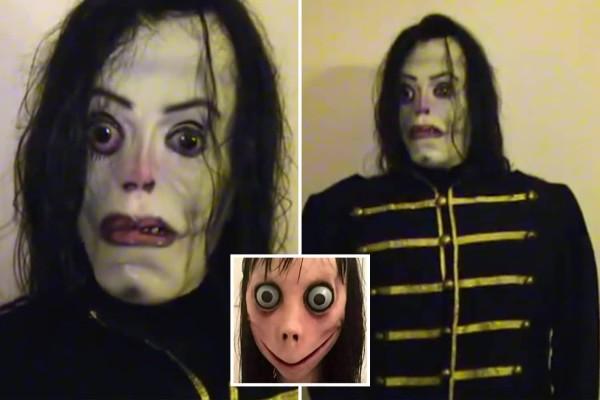 Ένα τρομακτικό video ενός άντρα με μάσκα του Michael Jackson