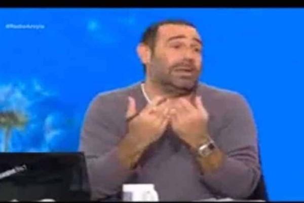 Αντώνης Κανάκης: «Tι κάνουμε γ@@@ την τρέλα μου»- Εκτός εαυτού ο παρουσιαστής!