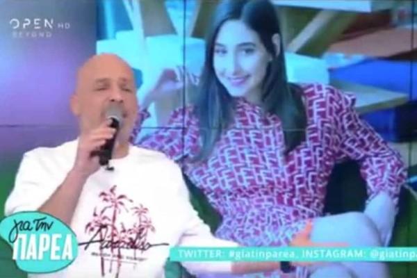 Νίκος Μουτσινάς: Οι τρυφερές ευχές για την εγκυμοσύνη στης Φωτεινής Αθερίδου! (video)