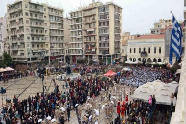 Πάτρα: Eνισχύονται οι αστυνομικές δυνάμεις για το τριήμερο καρναβαλιού λόγω των επιθέσεων σε Αθήνα και Θεσσαλονική
