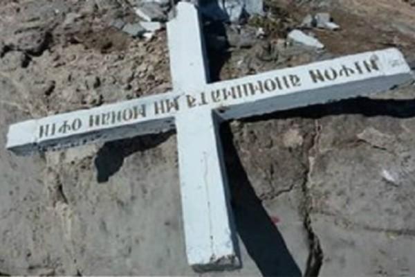 Συναγερμός στη Λέσβο προσήγαγαν 40 άτομα…Γιατί τοποθέτησαν ξανά το Σταυρό στο νησί !