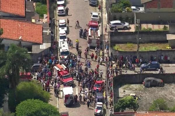 Βραζιλία: Βίντεο-σοκ από την επίθεση σε σχολείο!