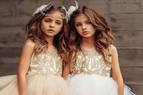 Οι 7χρονες δίδυμες που είναι τα ομορφότερα κορίτσια στον κόσμο!