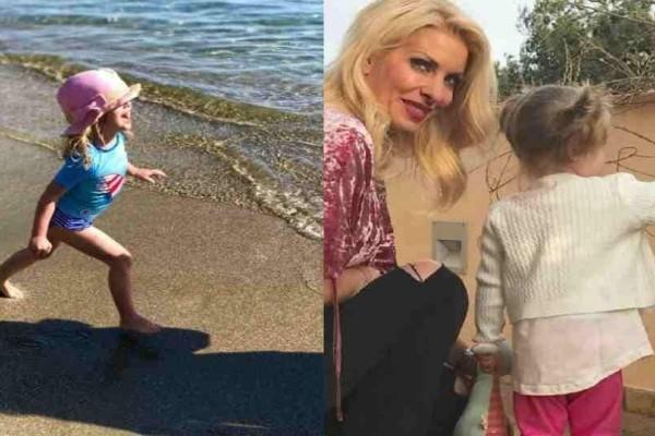 Ελένη Μενεγάκη: Στιγμές χαλάρωσης μαζί με τις κόρες της στην Άνδρο!