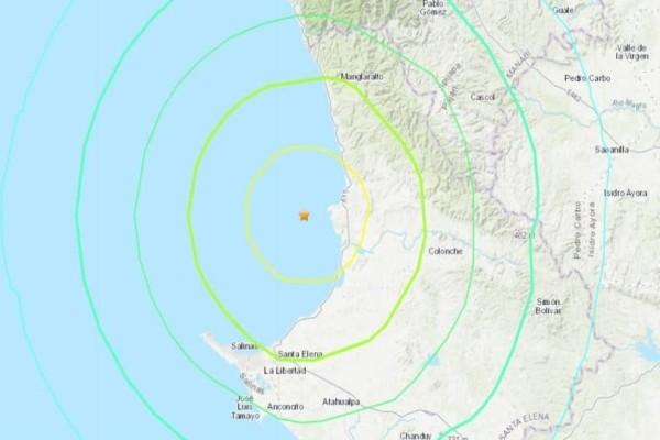 Σεισμός στον Ισημερινό: 6,2 Ρίχτερ!