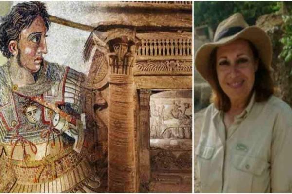 Νational Geographic: «Ελληνίδα αρχαιολόγος έχει στοιχεία για τον χαμένο του τάφου του Μεγάλου Αλέξανδρου»