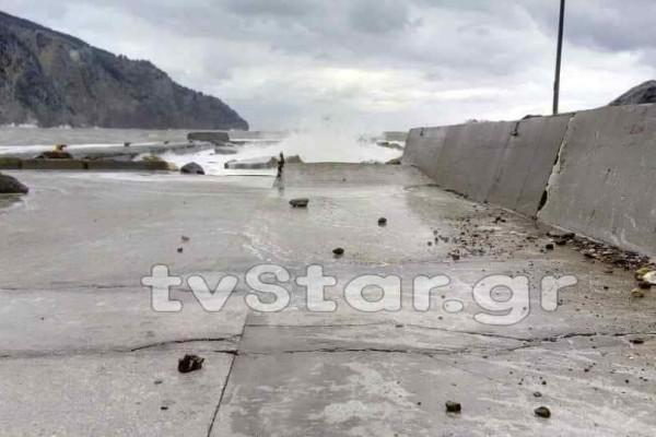 Εύβοια: Οι άνεμοι πλήγωσαν την περιοχή!