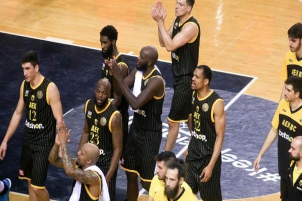 Basketball Champions League: ΠΑΟΚ - ΑΕΚ 75-84