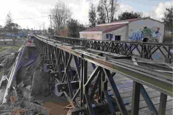 Χανία: Φτιάχτηκαν οι πρώτες γέφυρες του στρατού