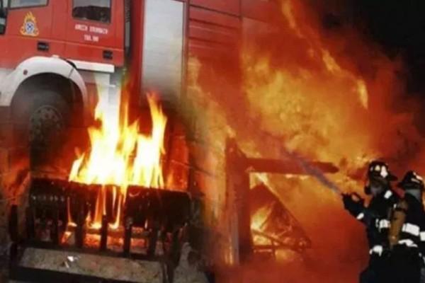 Τραγωδία στα Γρεβενά: Άνδρας κάηκε ζωντανός μέσα στο σπίτι του!
