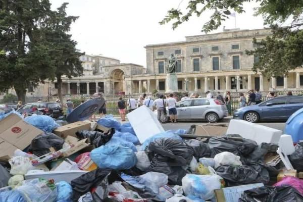 Η Κομισιόν προειδοποιεί την Ελλάδα για τα σκουπίδια στην Κέρκυρα!