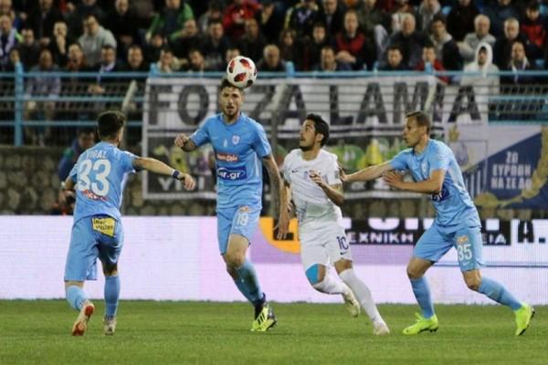 Super League: Λαμία - ΠΑΣ Γιάννινα 1-1