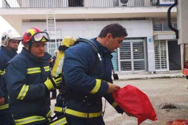 Nαύπλιο : Πυροσβέστης τραυματίστηκε κατά τη διάρκεια άσκησης!