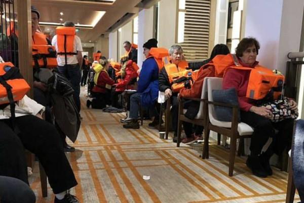 Νύχτα τρόμου στη Νορβηγία: Εκκένωση 1.300 επιβατών από κρουαζιερόπλοιο!