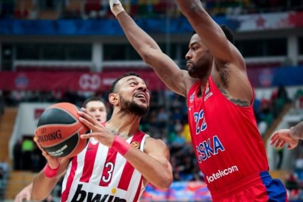 Euroleague: Πάση θυσία νίκη με ΤΣΣΚΑ για να μην μπλέξει ο Ολυμπιακός!
