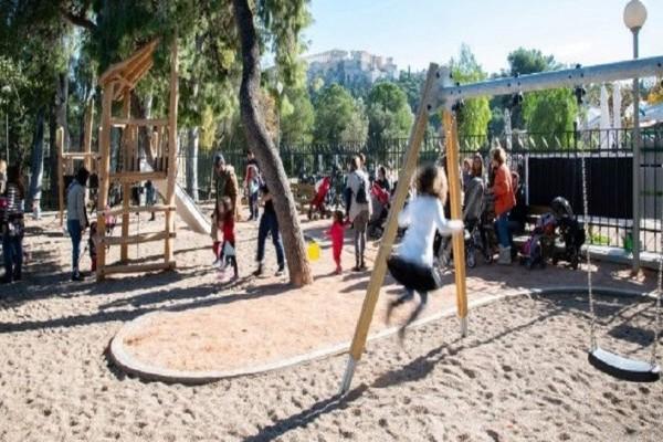 16 καινούργιες παιδικές χαρές στον δήμο της Αθήνας -Προσβάσιμες για παιδιά με κινητικές δυσκολίες!