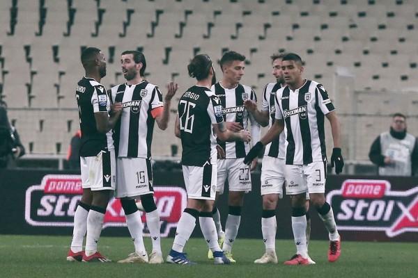 Super League: Παναθηναϊκός - ΠΑΟΚ 0-2