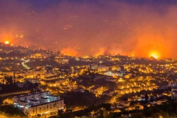 Φωτιά σε Πορτογαλία και Ισπανία λόγω... ζέστης!