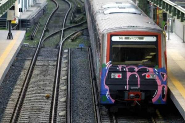 ΗΣΑΠ: Εκτός λειτουργίας τμήμα της γραμμής λόγω εκτροχιασμού τρένου!