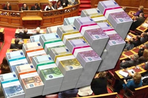 Σκάνδαλο - αποκλειστικό: 15 εκατομμύρια ευρώ από το Κράτος πάνε στα κόμματα! Πόσα παίρνει το καθένα;