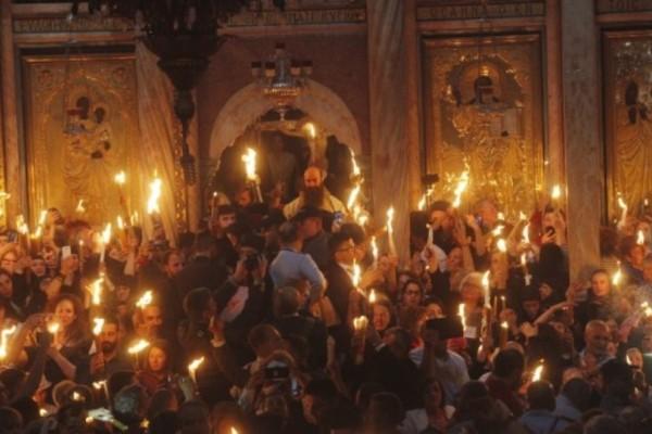 Δείτε live την τελετή Αφής του Αγίου Φωτός από τα Ιεροσόλυμα! (Video)