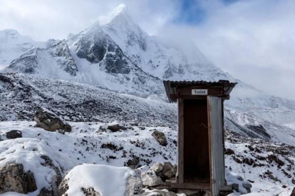 Έβερεστ: Oικολογικές τουαλέτες σε υψόμετρο 7.028 μέτρων!
