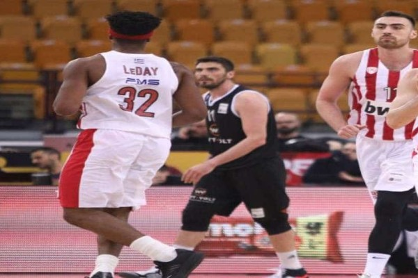 Basket League: Ολυμπιακός-ΠΑΟΚ 80-59!
