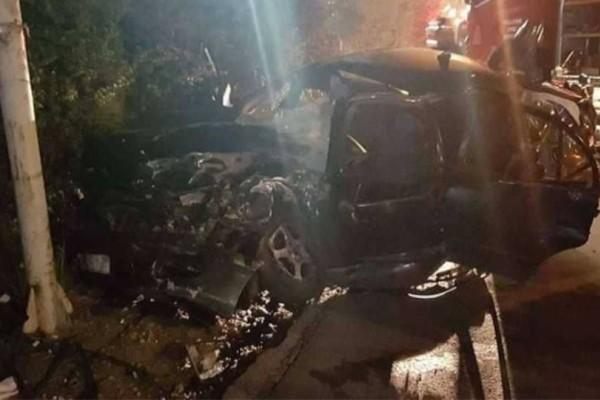 Σοκ στο Μενίδι: Σκοτώθηκε ληστής που προκάλεσε τροχαίο για να κλέψει ντελιβερά! Δύο οι νεκροί