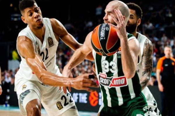 Euroleague: Δεύτερη ευκαιρία για break στην Μαδρίτη για τον Παναθηναϊκό!