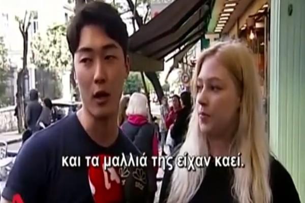 Σοκαριστικές μαρτυρίες για τον κεραυνό στην Ακρόπολη! - «Είχε καμένα μαλλιά και αίματα» (video)