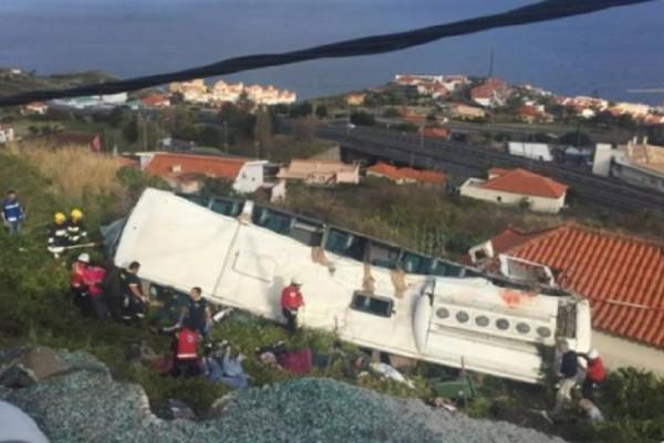 Ανείπωτη τραγωδία στην Πορτογαλία: Ανετράπη τουριστικό λεωφορείο με 28 νεκρούς!