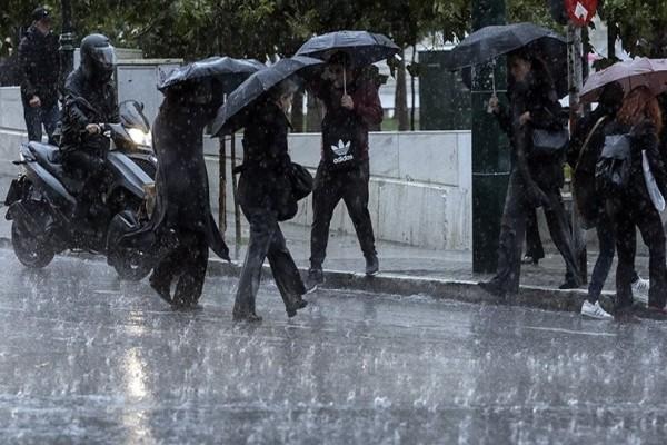 Ραγδαία επιδείνωση του καιρού! - Βροχές, καταιγίδες και... λάσπη σήμερα!
