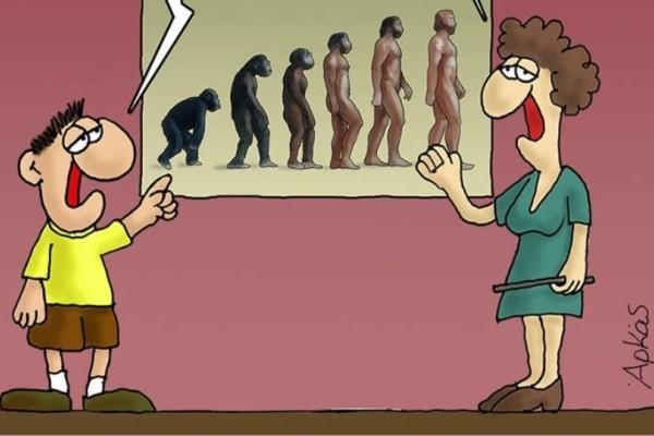 Αρκάς: To νέο σκίτσο για τον μικρό πρωθυπουργό και τον πίθηκο υπουργό!